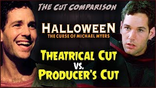 Halloween: The Curse of Michael Myers (1995) CUT COMPARISON