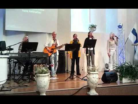 Worship at Healing Rooms Conference Helsinki 2011