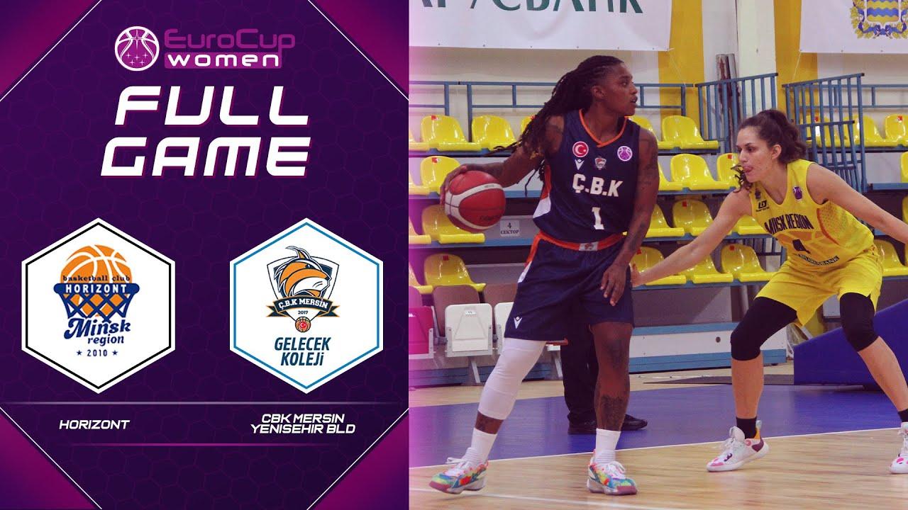 Horizont v CBK Mersin Yenisehir Bld   Full Game - EuroCup Women 2021-22