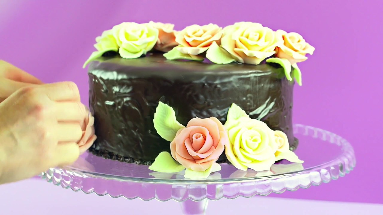 How To Make Modelling Chocolate Roses Recipe