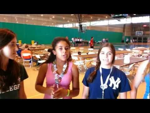 Team Stamford at the JCC Maccabi Games 2012 in Rockland, NY