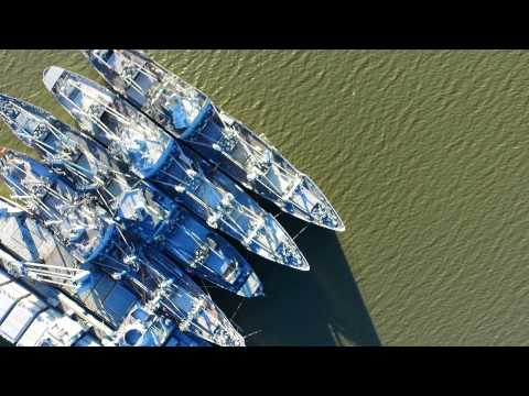 DJI Inspire-1 Joins the National Defense Reserve Fleet, Suisun Bay, California, USA