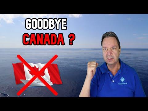 CRUISE SHIP NEWS  -  CANADA MAY HAVE KILLED CRUISING