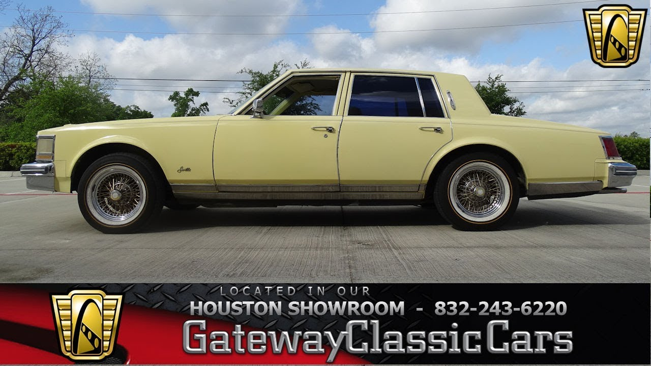 1979 Cadillac Seville Gateway Classic Cars 1182 Houston Showroom