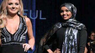 Halima Adem - Kontestan Miss Minnesota Berjilbab