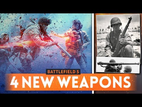 M1 GARAND FINALLY SPOTTED! 4 New Weapons Revealed! - Battlefield 5 (Browning Hi-Power & Bazooka)
