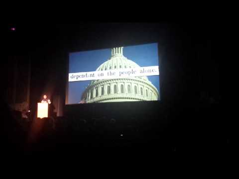 Lawrence Lessig 2015 New Hampshire Rebellion Concord Keynote Address