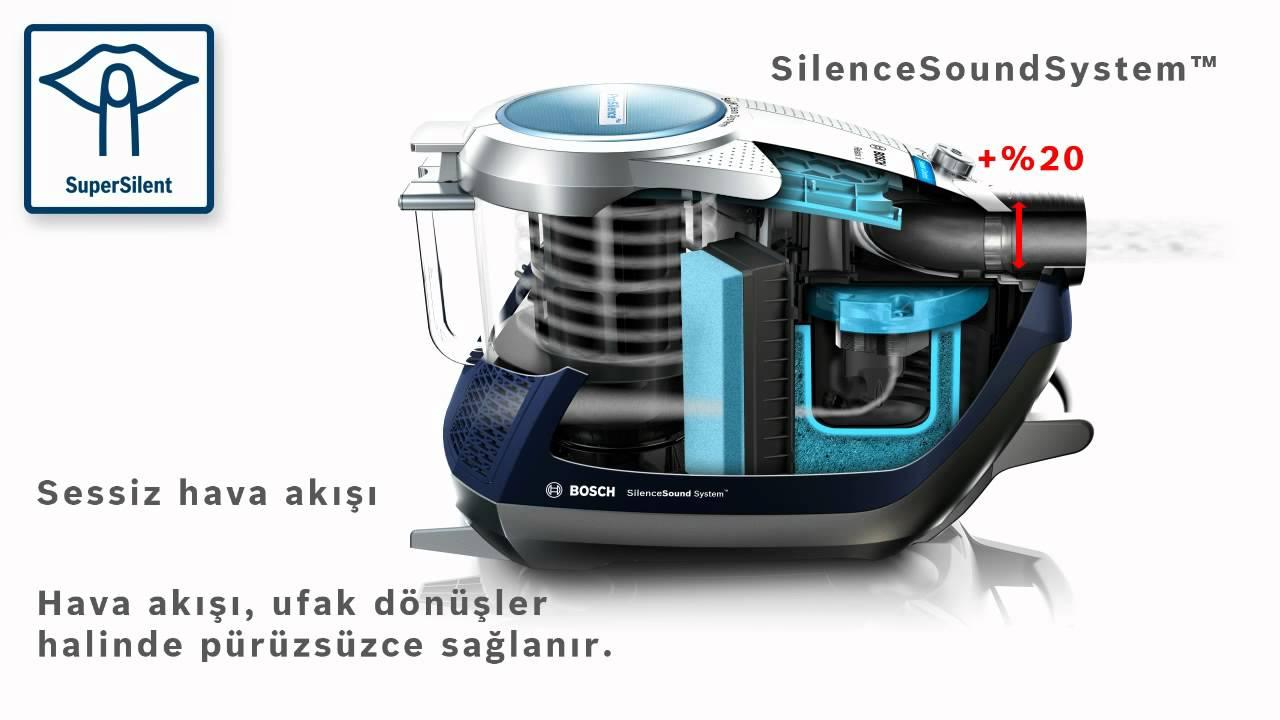 bosch roxx pro silence elektrik s p rgesi supersilent youtube. Black Bedroom Furniture Sets. Home Design Ideas
