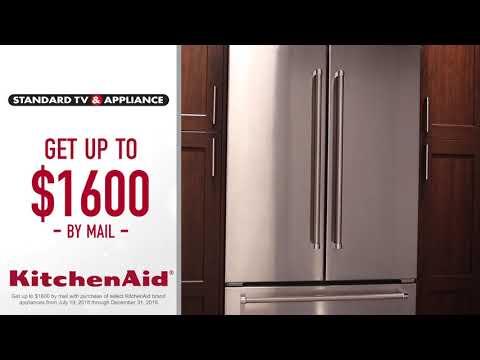 Standard TV & Appliance - Huge KitchenAid Savings