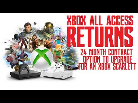 Xbox All Access Returns With 24 Month Contract