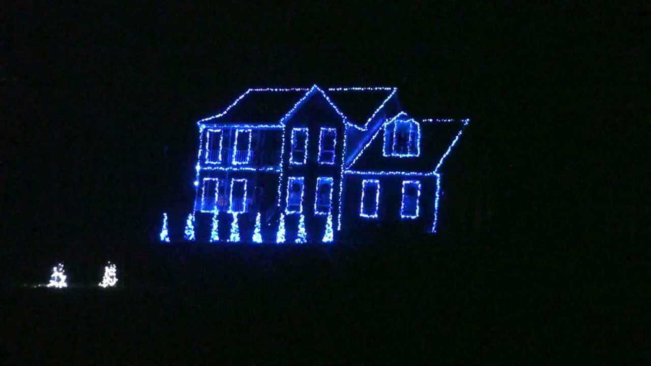 Download 2012 12 Days of Christmas Straight No Chaser Duane Brown Family Animated Christmas Light Show