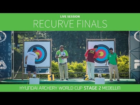 Live Session: Recurve Finals | Medellin 2016 Hyundai Archery World Cup S2