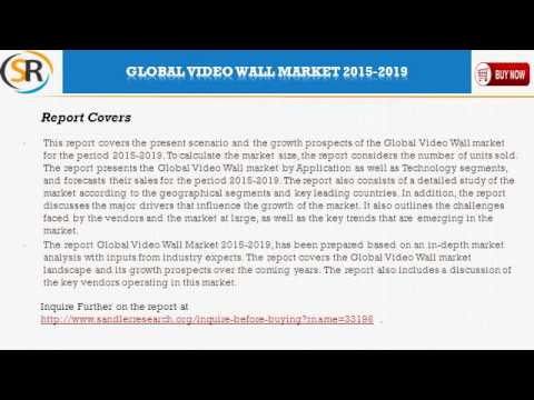Global Video Wall Market 2015-2019