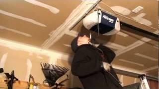 fixing the garage door opener