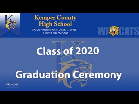 Kemper County High School Class of 2020 Graduation Ceremony