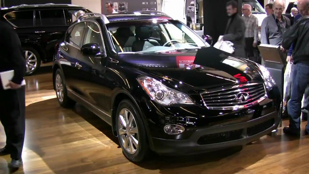 2012 infiniti ex35 exterior and interior at 2012 montreal auto show youtube. Black Bedroom Furniture Sets. Home Design Ideas