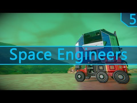 Space Engineers | Survival Series: Apollo | Episode 5 | In Search of Ore