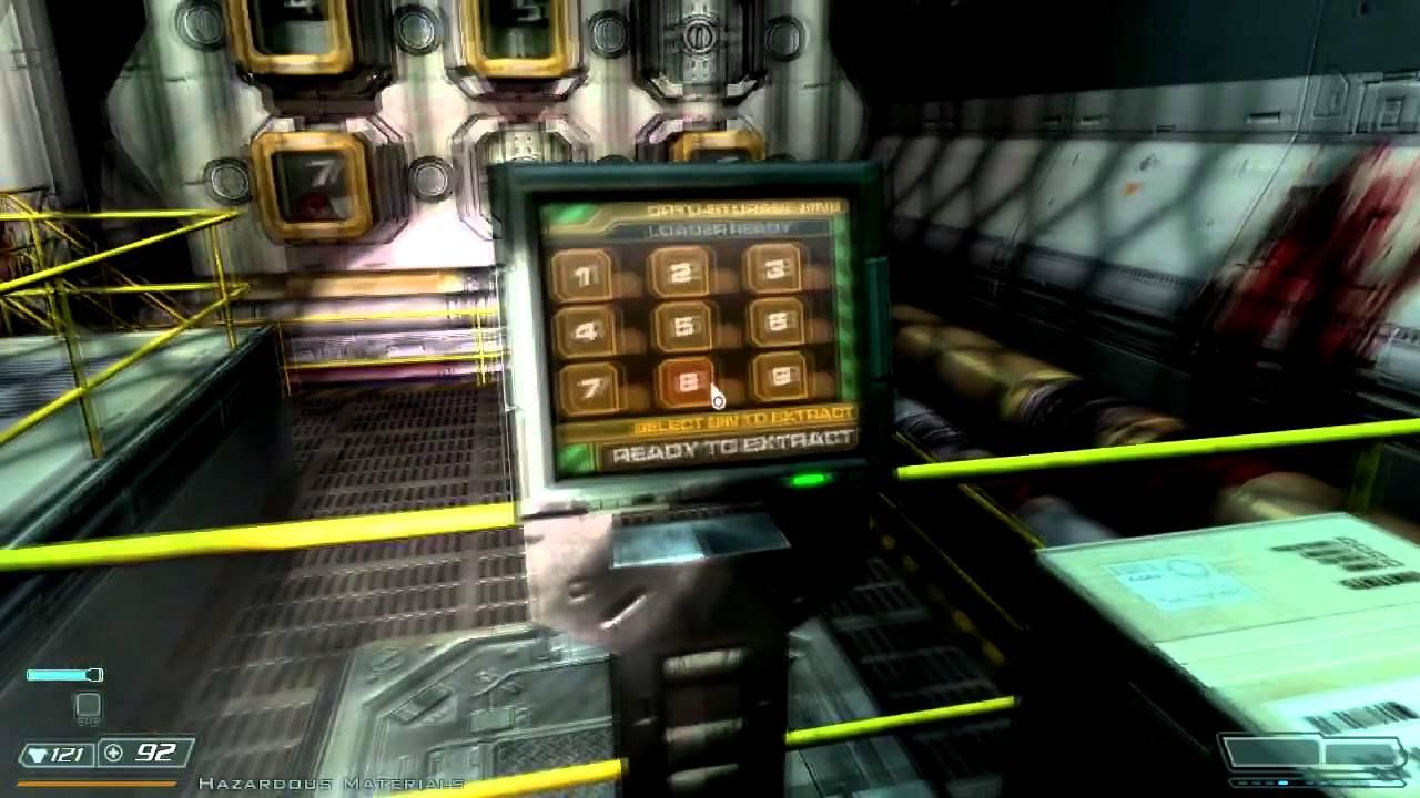 Doom 3 walkthrough - Delta Labs - Sector 2A
