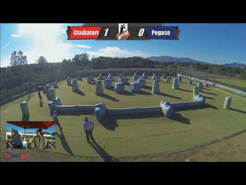 Gladiatori Unicusano France, first event 5vs5