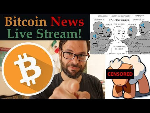 Bitcoin News Live Stream! 🚀 XRP Army Plan Ripple Takeover! 💲 BitMEX Exit Scam Coming Soon! - YouTube