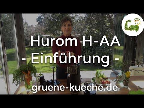 Hurom H-AA Teil 1 - Zusammenbau und Technik vom Entsafter