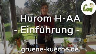 Hurom HZ Slow Juicer Teil 1 - Technik und Zusammenbau des Entsafters