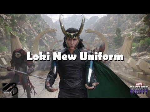 Loki New Uniform Beat Supergiant World Boss Ultimate Phase 3 - Marvel Future Fight