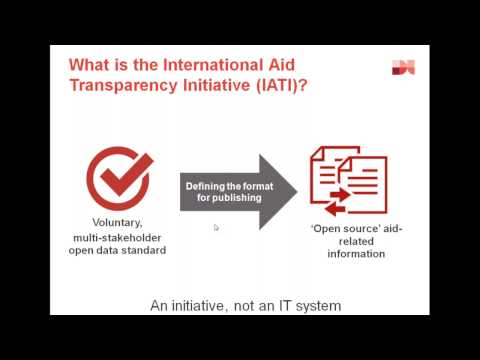 An introduction to the IATI Standard within the humanitarian context 1