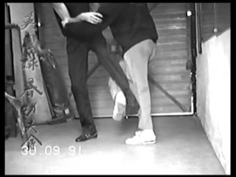 UK Wing Chun Chi Gerk - Sticky Legs
