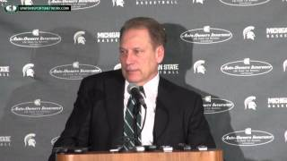 Tom Izzo Press Conference: Michigan State 76 Michigan 66 OT