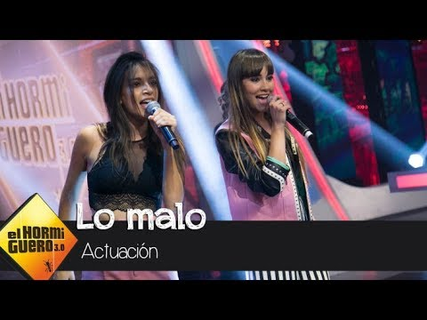 Aitana War cantan en directo en † El Hormiguero 3.0 † su single † Lo malo † - El Hormiguero 3.0