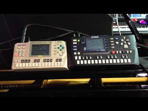 Kris Nicholson Demos His Yamaha QY 70 & QY 100 Music Sequencers
