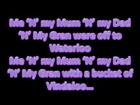Vindaloo Lyrics
