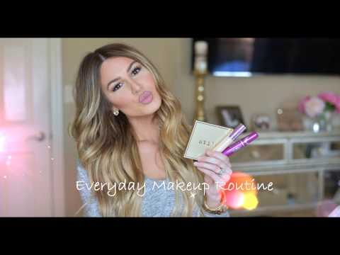 Everyday Makeup Routine   Hollie Woodward