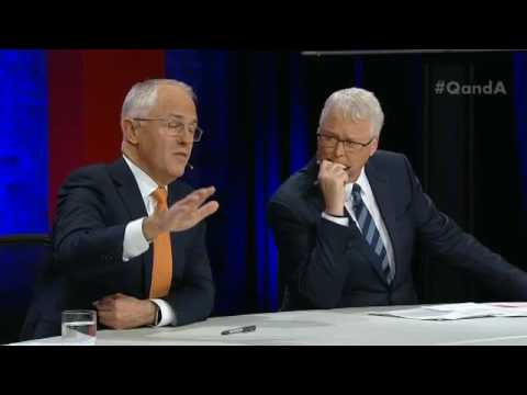 Harsh policy: Malcolm Turnbull doesn