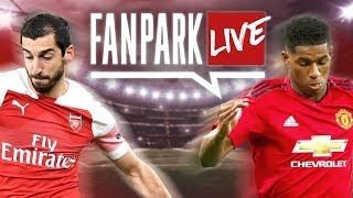 Arsenal 2-0 Manchester United | FanPark Live