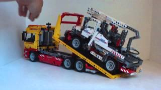 Lego 8109 Flatbed Truck thumbnail