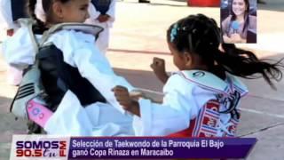 Selección de Taekwondo de la Parroquia El Bajo ganó Copa Rinaza en Maracaibo