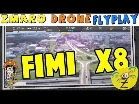 Zmaro Drone FlyPlay Voando Com O Drone Xiaomi Fimi X8 SE Em São Carlos