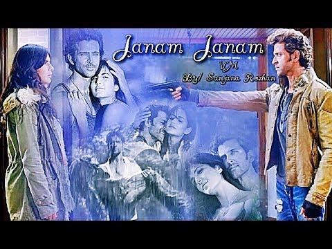 Hrithik Roshan & Katrina Kaif - VM // Janam Janam | Arijit Singh, Antara Mitra