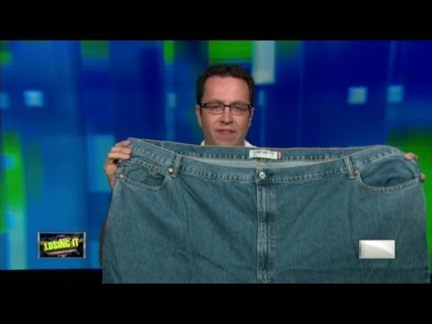 Jared Fogle And His Quot Fat Jeans Quot Youtube