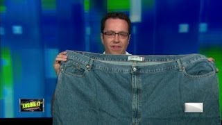 "Jared Fogle and his ""fat jeans"""