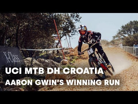 UCI MTB 2018: Aaron Gwin mastered the DH race in Croatia.