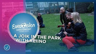 A joik in the park with KEiiNO from Norway 🇳🇴 - Eurovision 2019