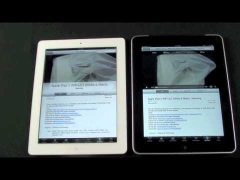 Apple iPad 1 vs iPad 2: Speaker Comparison