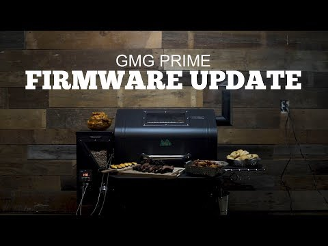 Green Mountain Grills Prime Support | Firmware Update