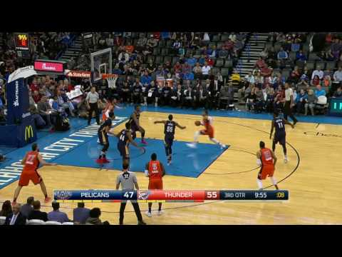 New Orleans Pelicans at Oklahoma City Thunder- December 4, 2016