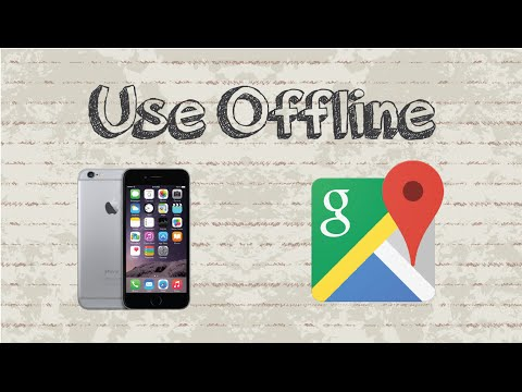 How to use Google Maps offline | Mobile App (Android & Iphone)