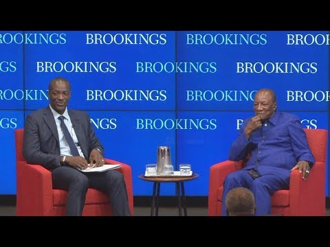 Natural Resource Management In Africa: A Conversation With President Of Guinea Alpha Condé