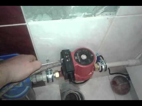 Насос для повышения давления воды (Grundfos  UPA 15-90-160)